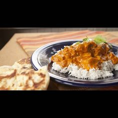 This chicken tikka masala is made from scratch and with lots of love. Trust me it is worth your time! Slow simmered sauce and tender chicken with naan! My Favorite Food, Favorite Recipes, Chicken Tikka Masala, Chicken Tika, Chicken Makhani, Good Food, Yummy Food, Delicious Recipes, Masala Recipe
