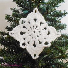 8 Coasters White Lace 100% Cotton Crochet Coastal Doilies Christmas Ornaments #Unbranded