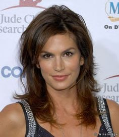 Cindy Crawford Hairstyle Photo 2 Beauty Pinterest