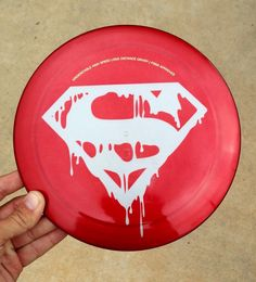 Disc Golf Latitude 64 Bolt custom Superman Steel dye driver Kaya DC Marvel Comic