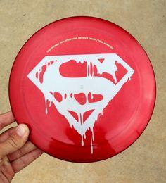 Disc Golf Latitude 64 Bolt custom Superman Steel dye driver Kaya DC Marvel Comic