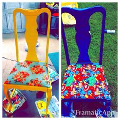 Refurnished chairs