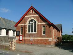 Igreja Metodista Poughill. Cornualha, Inglaterra, Reino Unido.  Fotografia: Neil Lewin.