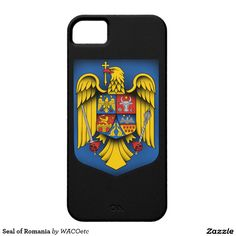 Seal of Romania iPhone 5 Covers