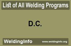 Check all Welding Programs in District of Columbia, the United States. Welding Programs, Programming, Columbia, United States, The Unit, Check, Colombia, Coding