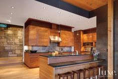 Warm & Inviting Kitchen   Kitchens   LUXE Source