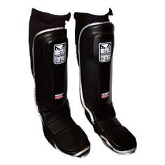 Bad Boy Pro Series Gel Grappling Shin Guards L/XL by Bad Boy. $89.99. Features raised ridge of anti-shock gel in addition to high-compression multi-layered padding for ultimate absorption. Lightweight yet durable, Neoprene back with mesh for added ventilation and hook and loop closure at calf for secure fit.. Save 10% Off!