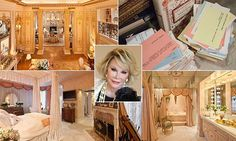 Marble statues, chandeliers, walls lined with gold - and stacks of jokes: Inside Joan Rivers' opulent New York apartment 'where Marie Antoinette would have lived if she had the money' http://dailym.ai/1lRalMY