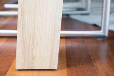 25 beste afbeeldingen van strak eiken tafels