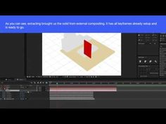 From Cinema 4D to After Effects - External Compositing - YouTube