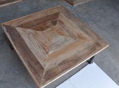 "Reclaimed Rustic Art Barn Wood Table Top 36""x 36"" Handmade Bar Restaurant Home #Handmade #Modern"