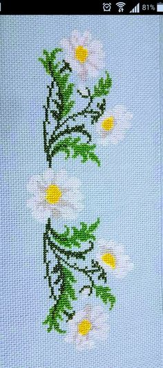 Wajdi Masad's media content and analytics Cross Stitch Bookmarks, Cross Stitch Rose, Cross Stitch Borders, Cross Stitch Flowers, Counted Cross Stitch Patterns, Cross Stitch Charts, Cross Stitch Designs, Cross Stitching, Cross Stitch Embroidery