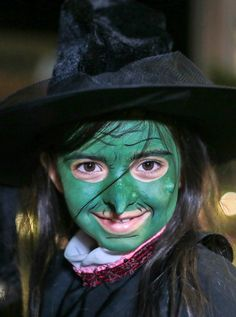 Make way for magic. We're green with envy for this little witch's wicked FacePaint. Find wicked how-to guides and Snazoween inspiration on our site
