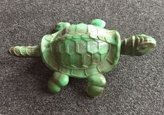 1950s Vintage Celluloid Reider & Co. Nodder Bobble Head Turtle Toy Germany  | eBay