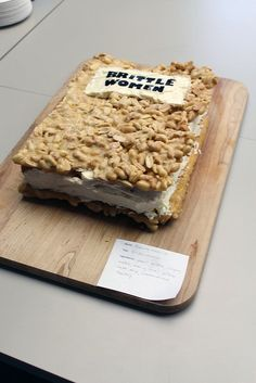 The Edible Book Festival at KU Libraries on Friday, March 30, 2012. Shown: Brittle Women.