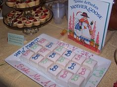 Sometimes Creative: Mother Goose Baby Shower