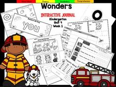 "This Kindergarten interactive journal is aligned to Common Core and to the McGraw Hill Wonders series for Unit 4-Week 1. These journal entries allow students to be engaged while reading the text.Complete Set Includes:Mini Anchor Chart/Activities for Letter ""O"", Genre (Informational)""Oo"" Handwriting PracticeKey Details Graphic Organizers for ""Whose Shoes?"", ""Workers and their Tools"", and ""Tom on Top!""Word Building PracticeSentence Building Practice""Popcorn Words"" correlated to the High Freque..."