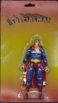 Hilariously Wrong Bootleg Action Figures, via Nerd Approved. Click the link to see more goofy examples!