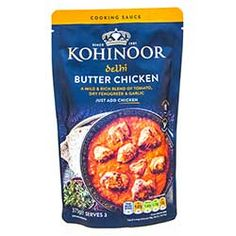 Buy Delhi Butter Chicken Curry Sauce online from Spices of India - The UK's leading Indian Grocer. Free delivery on Delhi Butter Chicken Curry Sauce - Kohinoor (conditions apply). Chicken Curry Sauce, Butter Chicken Sauce, Diced Chicken, Grilled Chicken, Cream Sauce Recipes, Mixed Vegetables, Curry Paste, Garam Masala, Spices