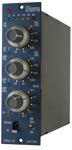 Neve 2264ALB. Neve 2264A mono Limiter/Compressor for 500 series enclosures. £945 (ex VAT)