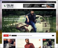 EalahMagz - Modern #Magazine #WordPress Theme : https://webdesignshare.com/2016/ealahmagz-modern-magazine-wordpress-theme/