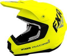 FXR Racing - 2015 Snowmobile Apparel - Torque Helmet - HiVis