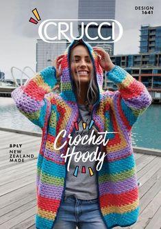 Crochet Hooded Jacket Crochet pattern by Crucci NZ