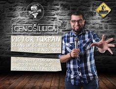 Viernes de Stand Up Comedy en Cenosillica Antro Bar Te invitamos a reír con el show de Victor Tuxpan como lo viste en #STANDparados. #NoCover