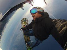 Go pro HD Hero 3 - Snowboarding