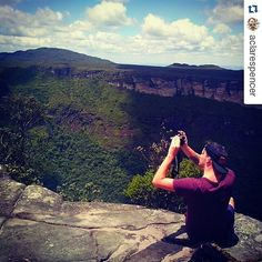 An old one from my personal account @aclarespencer. I trekked through the hills and caves of Chapada Diamantina in Brazil with this guy a few years ago. Don't even remember his name but remember taking lots pictures of him taking pictures.  #picturesofpeopletakingpictures #landscape #landscapelovers #trekking #chapadadiamantina #bahia #Brazil #brasil by peopletakingpix