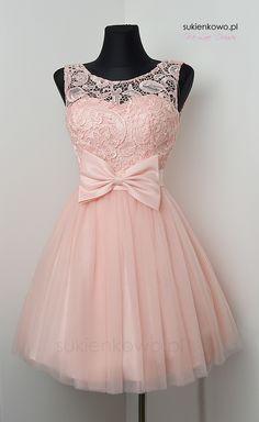 Sukienkowo.pl - SukienkatiulowaLAILAróżowa Dama Dresses, Quince Dresses, Pink Prom Dresses, Homecoming Dresses, Casual Dresses, Fashion Dresses, Kids Dress Wear, Girls Party Dress, Pretty Dresses For Teens
