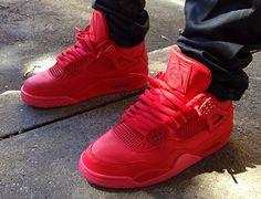 "Air Jordan IV ""Red October"" by Noldo Customs - SneakerNews.com"