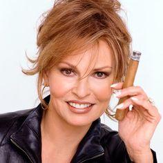 Rachel Welch smoking a stogie...who knew?