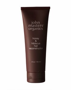 """John Masters Organics is one of those hair brands that lives and dies by the organic sword. That said, pretty much all of their products are of the """"everything you need, nothing you don't"""" variety, including this delicious-sounding Honey & Hibiscus Hair Reconstructor. With plant-based extracts and essential oils, this is the perfect moisturizing cocktail for your thirsty hair that craves nature as much as nurturing."""