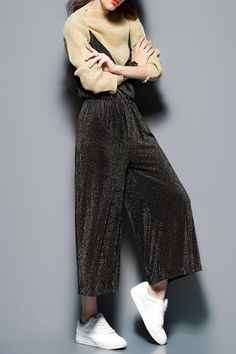 Cami Palazzo Overalls With Blouse