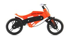 If kids aren't breaking or destroying their things, they're outgrowing them faster than you can replace them. That's why stretchy clothes that keep up with their growth spurts are a good idea, as is this clever balance bike from Doppelganger with an adjustable frame that gets taller as your kids do.