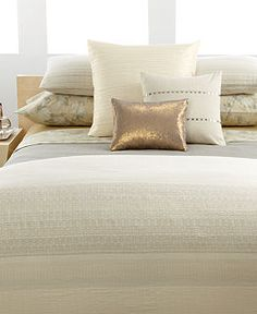 simple? CLOSEOUT! Calvin Klein Home Bedding, Neutral Double Weave Collection - Bedding Collections - Bed & Bath - Macys