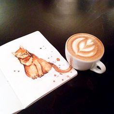 Кофе-кошки Елены Ефремовой (Интернет-журнал ETODAY)