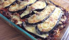 Primal Pumpkin and Eggplant Lasagne   #primal captaincavedan.com Clean Recipes, Eggplant, Paleo, Pork, Pumpkin, Meat, Lasagna, Kale Stir Fry, Pumpkins