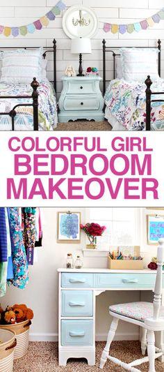 girl bedroom makeover