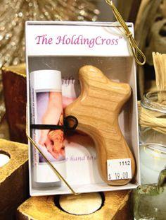 Bookstore: Featured items (Jan-Feb) The Holding Cross: Handmade wooden prayer cross {$19} (shipping costs apply) | Incarnation Bookstore: 214.522.2815
