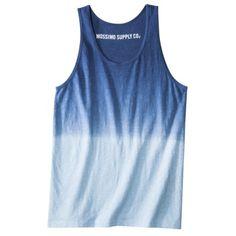 Mossimo Supply Co. Men's Dip Dye Tank Top - Asso... : Target