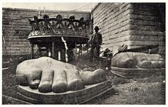 unboxing the Statue of Liberty 1885