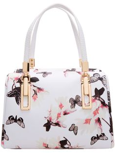 SheIn offers Black White Butterfly Print PU Bag & more to fit your fashionable needs. Butterfly Bags, White Butterfly, Butterfly Print, Black And White Tote Bags, Black White, White Man, Black Handbags, Purses And Handbags, Tote Handbags