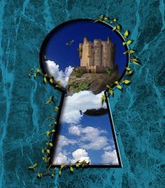 keyhole art | Through The Keyhole Digital Art