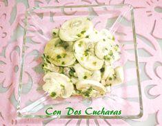 ConDosCucharas.com Champiñones en vinagre - ConDosCucharas.com Olympus Digital Camera, Fresco, Tapas, Potato Salad, Ethnic Recipes, Apple Vinegar, Parsley, Olive Oil, Garlic
