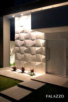 Reggie' s modern wall - AmigurumiHouse Modern Home Interior Design, Home Room Design, Modern House Design, House Gate Design, House Front Design, Modern House Facades, Aesthetic Room Decor, Facade House, House Entrance