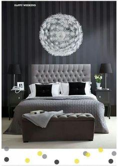 Lovely modern bedroom idea