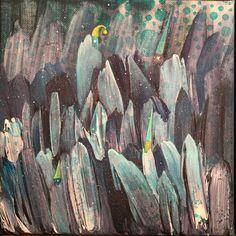 Carbonville - 20x20cm #annasagok #annabies #art #painting #mixedmedia Medium Art, Mixed Media Art, Anna, Paintings, Painting Art, Mixed Media, Painting, Paint, Draw