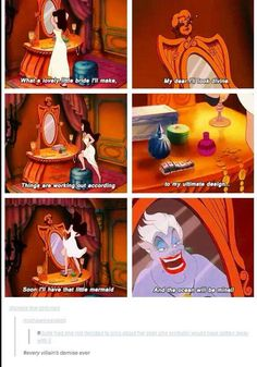 The end of all disney villains
